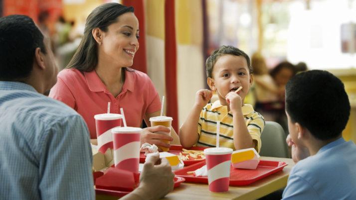 Las visitas a las webs de comida rápida son de menos duración que las de retailers, pero más efectivas.